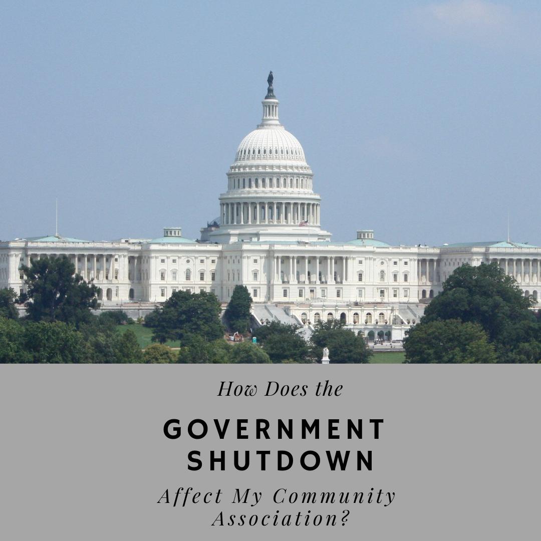 How Does the Government Shutdown Affect My Community Association?
