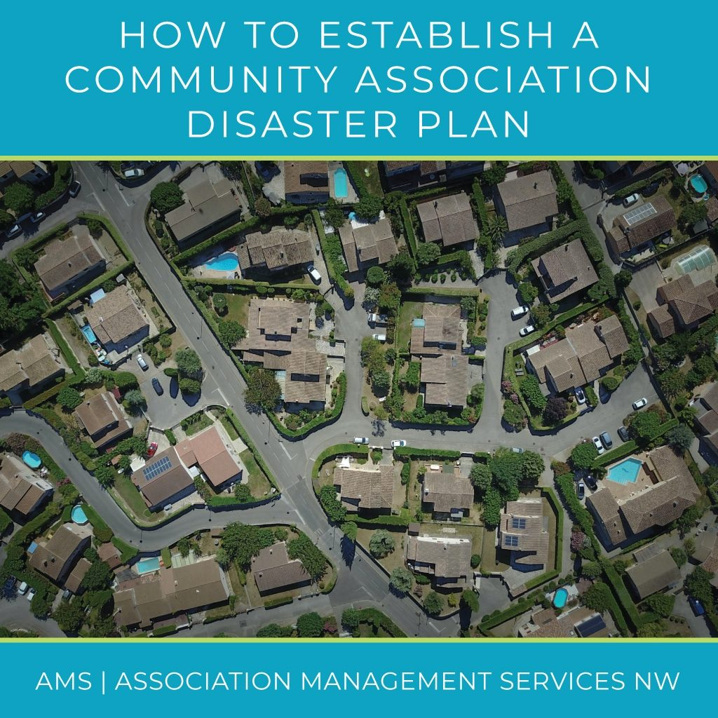 How to Establish a Community Association Disaster Plan custom crop