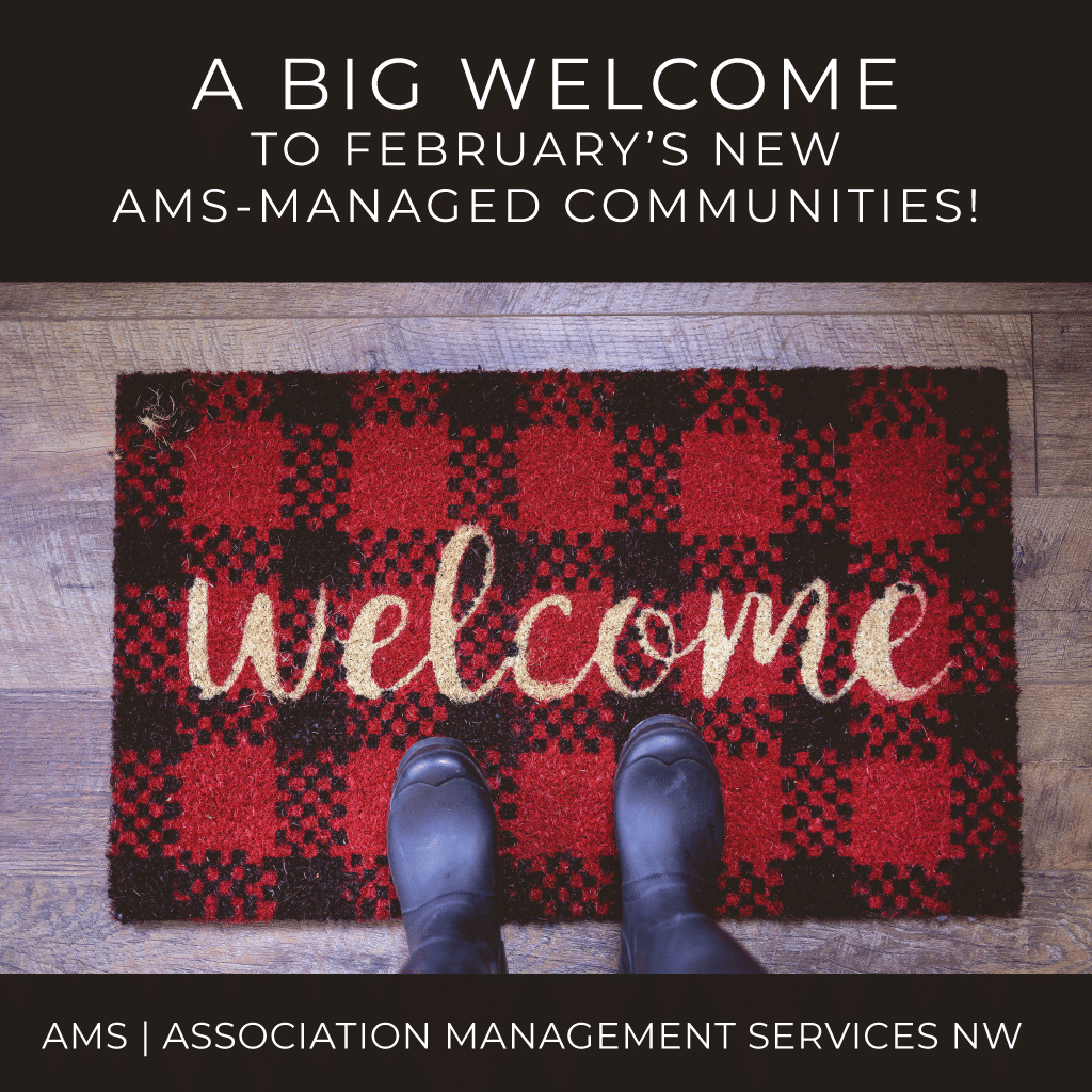 Welcome to February's New AMS-Managed Associations
